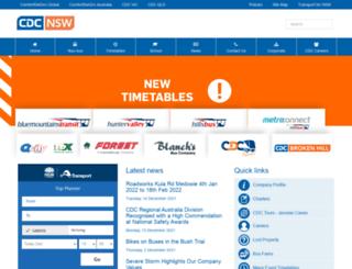 cdcbus.com.au screenshot