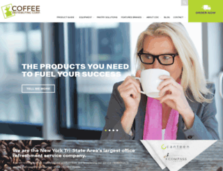 cdccoffee.com screenshot