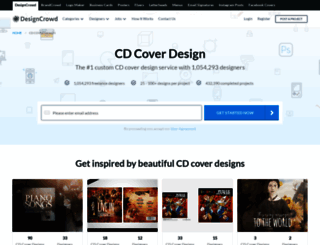 cdcover.designcrowd.co.in screenshot