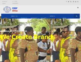 cddfafrica.org screenshot