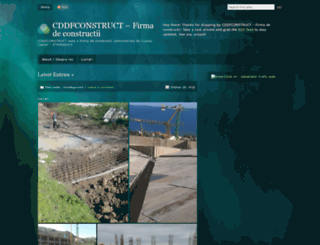 cddfconstruct.wordpress.com screenshot