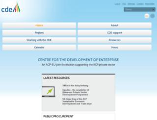 cde.int screenshot