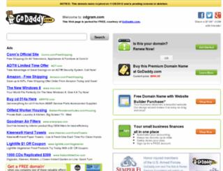 cdgram.com screenshot