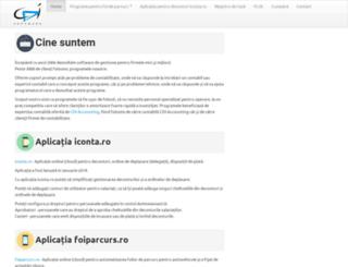 cdigroup.ro screenshot