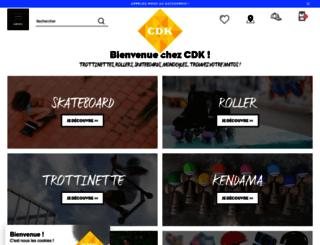 cdk.fr screenshot