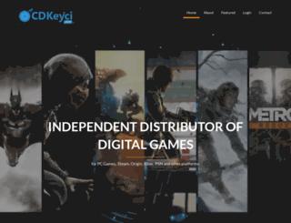 cdkeyci.com screenshot