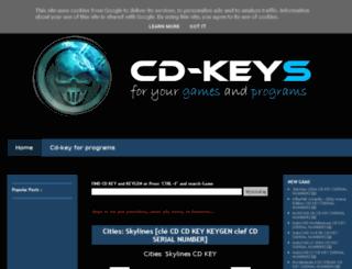 cdkeyforgame.blogspot.de screenshot