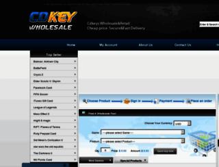 cdkeywholesale.com screenshot