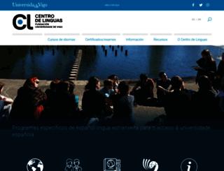 cdl.uvigo.es screenshot