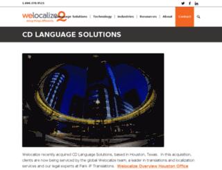 cdlanguage.com screenshot