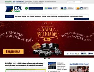 cdlcuiaba.com.br screenshot