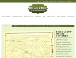 cdn.accessgenealogy.com screenshot