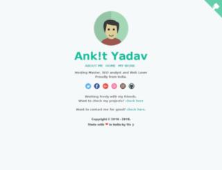 cdn.ankityadav.net screenshot