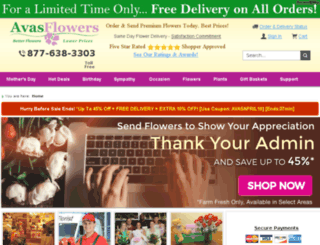 cdn.avasflowers.com screenshot