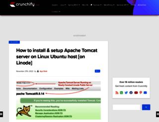 cdn.crunchify.com screenshot