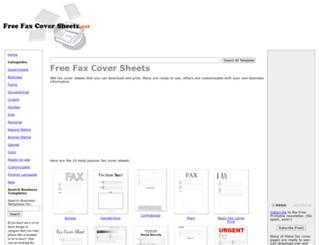 cdn.freefaxcoversheets.net screenshot