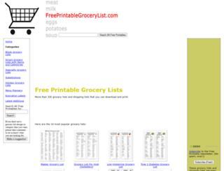 cdn.freeprintablegrocerylist.com screenshot