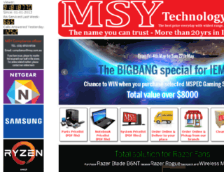 cdn.msy.com.au screenshot