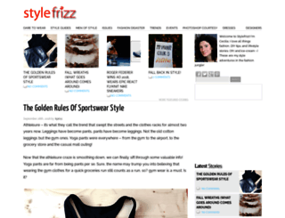 cdn.stylefrizz.com screenshot