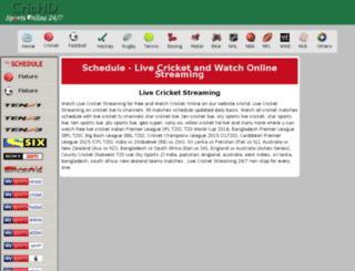 cdn18.crichd.in screenshot