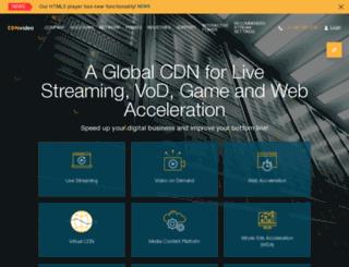 cdnvideo.com screenshot