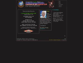 cdoeaglesclub.org screenshot