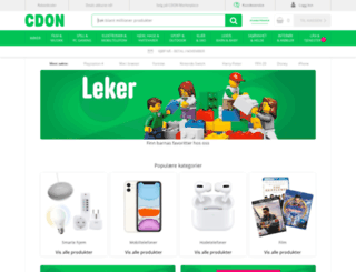 cdon.no screenshot