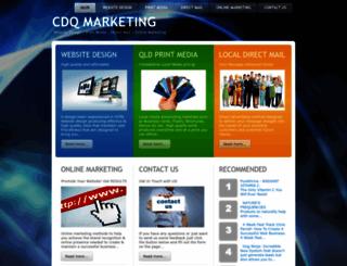 cdqmarketing.com.au screenshot