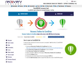 cdr.viewertool.com screenshot