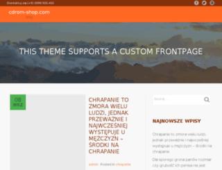 cdrom-shop.com screenshot