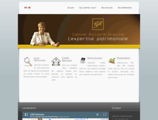 cdrpatrimoine.com screenshot