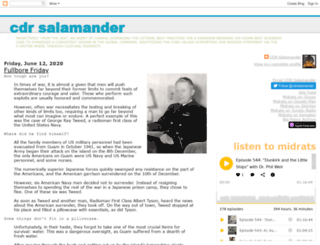 cdrsalamander.blogspot.com.es screenshot