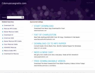 cdsmusicasgratis.com screenshot