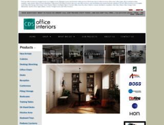 cdsofficefurniture.com screenshot