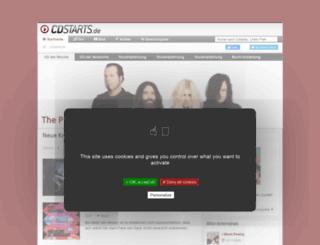 cdstarts.de screenshot