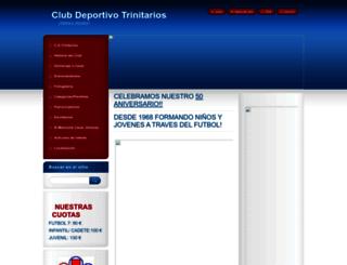 cdtrinitarios.webnode.es screenshot
