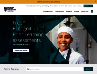 cdu.edu.au screenshot