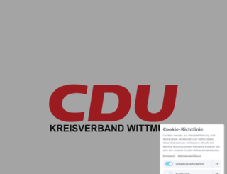 cduwittmund.de screenshot