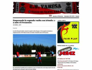 cdvadesa.wordpress.com screenshot