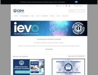 cdvi.co.uk screenshot