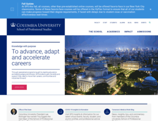 ce.columbia.edu screenshot