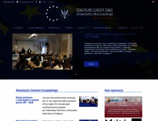 ce.uw.edu.pl screenshot
