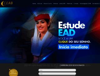 ceabonline.com.br screenshot