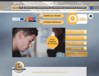 cead-laspalmas.net screenshot