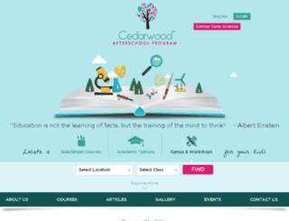 ceaderwood.multisitedrupal.com screenshot