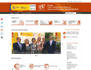 ceapat.org screenshot