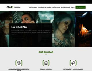 cear.es screenshot