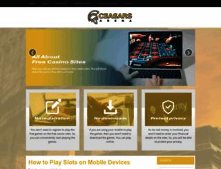 ceasarsarena.com screenshot