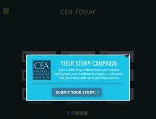 ceatoday.coloradoea.org screenshot