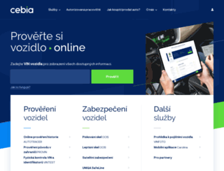 cebia.cz screenshot